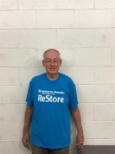 Hugh - volunteer at Orangeville ReStore