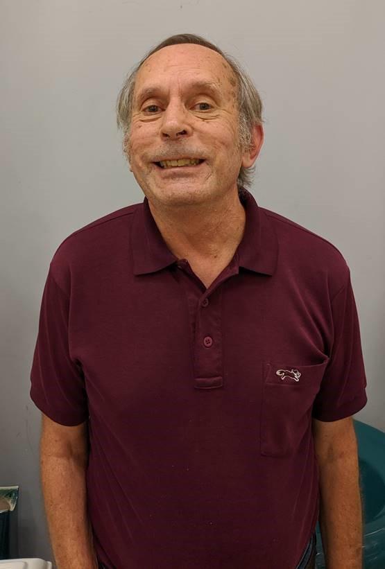 John - volunteer at Fergus ReStore